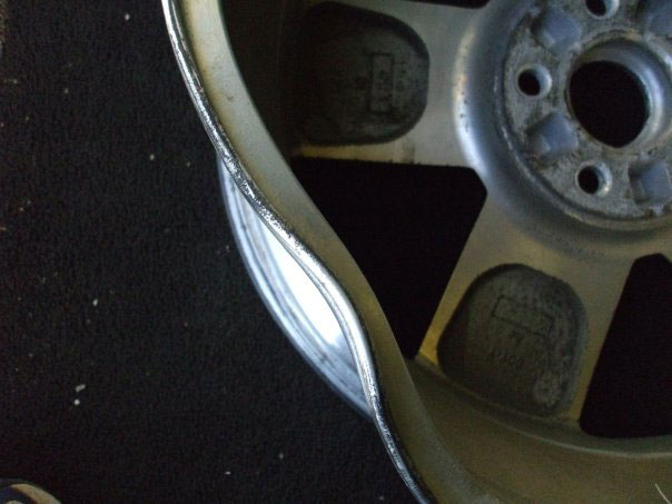 Damaged Rim - After