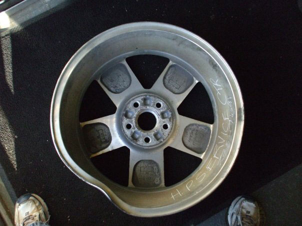 Damaged Rim - Before